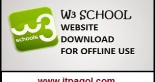 W3School Offline Version 2016