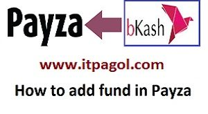 How to add fund in Payza