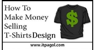 Earn from T-Shirt Design ITPagol